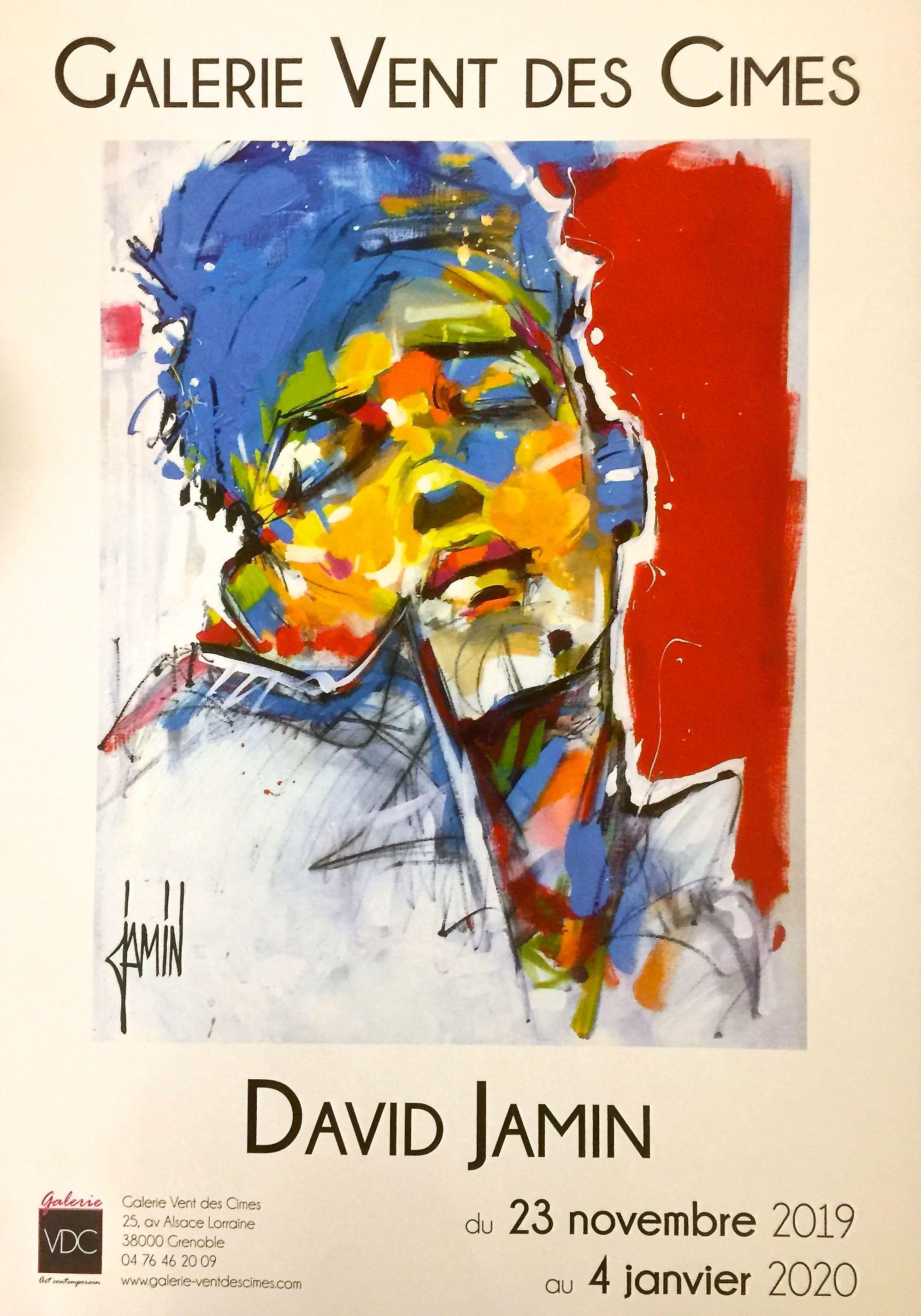 Exposition Jamin A Grenoble Peintre David Melange De Couleur