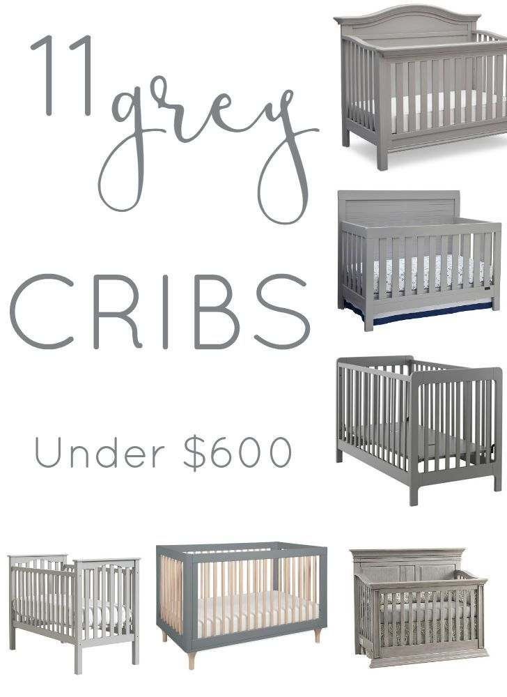 Eleven Affordable Grey Cribs | Dormitorios de bebe, Bebe y Dormitorio