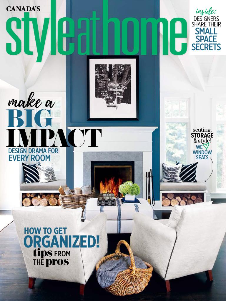 Living Room Interior Design Pdf: Style At Home Features My Design Studio