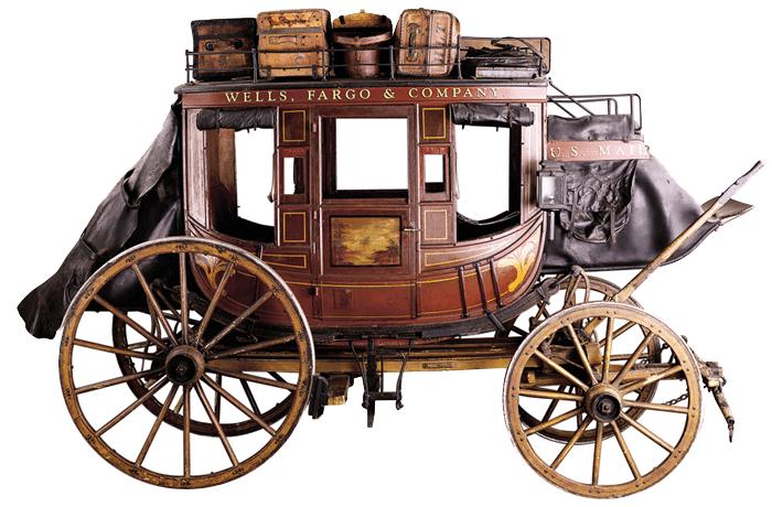 Stagecoach Driver - Wells Fargo History