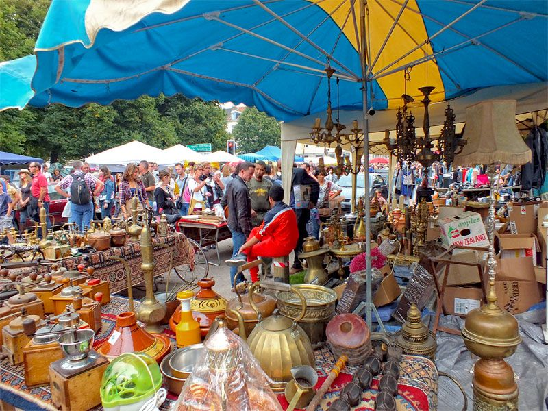 The Lille Braderie is legendary, the biggest flea market in Europe ...