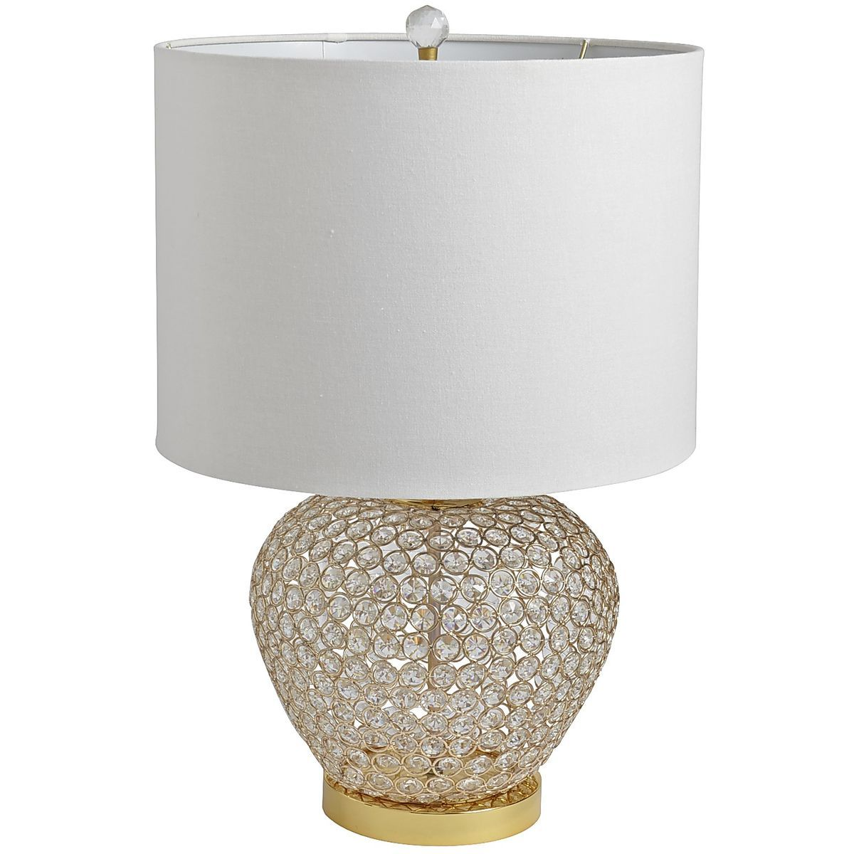 Crystal Bead Urn Lamp Gold Pier 1 Imports Gold Bedside Lamps