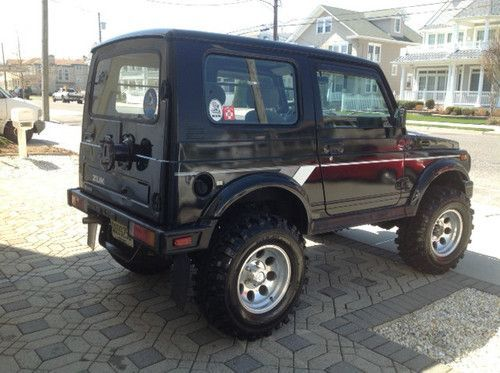 purchase used 1988 suzuki samurai jx sport utility 2 door. Black Bedroom Furniture Sets. Home Design Ideas