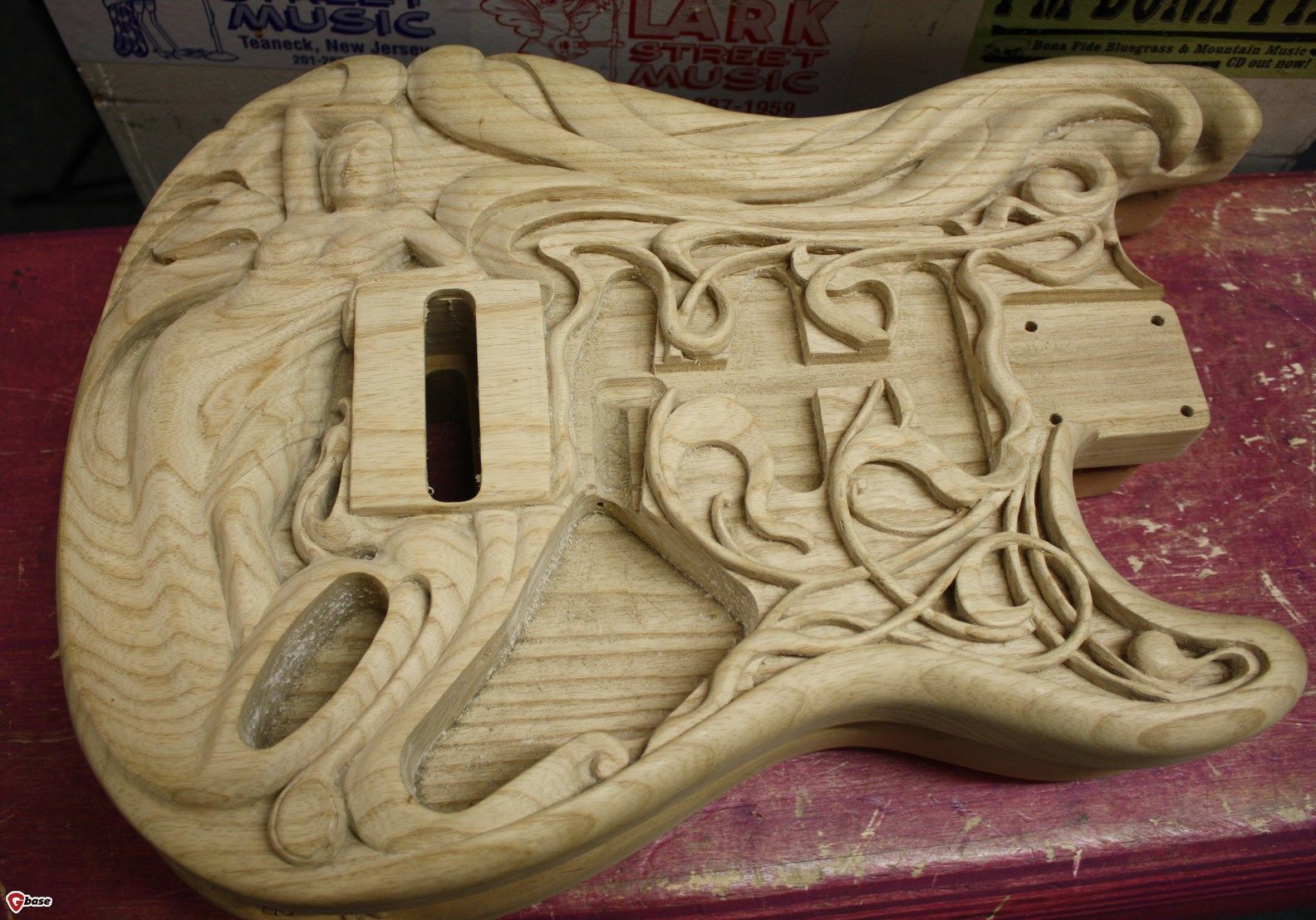 Franks Body Shop >> carved body guitar | Gbase.Com - Lark Street Carved bodies > Guitars : Electric Solid Body ...