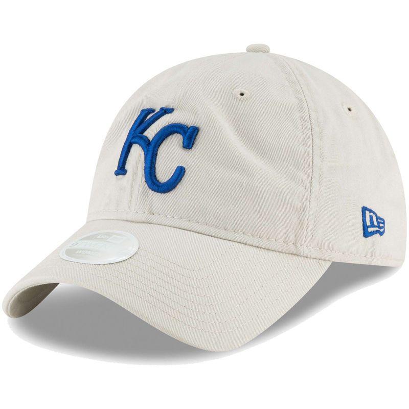 free shipping 6991a ae3f7 Kansas City Royals New Era Women s Core Classic Twill 9TWENTY Adjustable Hat  - Cream