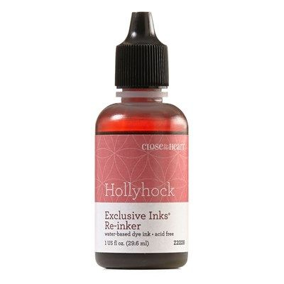 Close To My Heart Z2228 Hollyhock Exclusive Inks™ Re-inker - retiring July 31, 2016