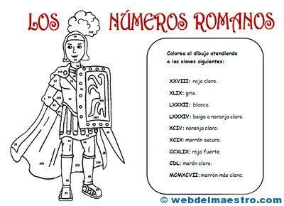 Nmeros romanos  Nmeros romanos  Pinterest  Romano Nmeros y