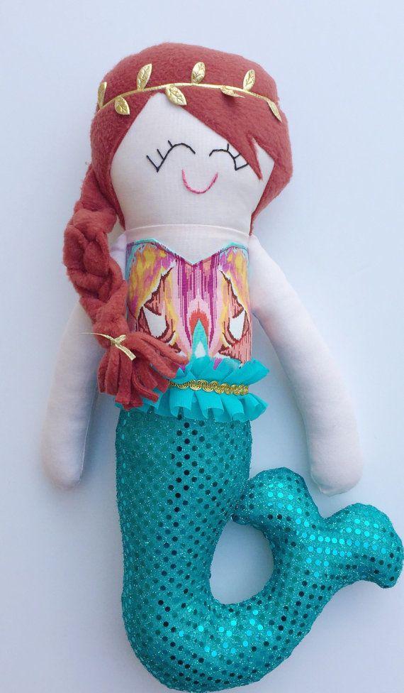 Mermaid Doll-Ready to Ship by shopbohobundles on Etsy