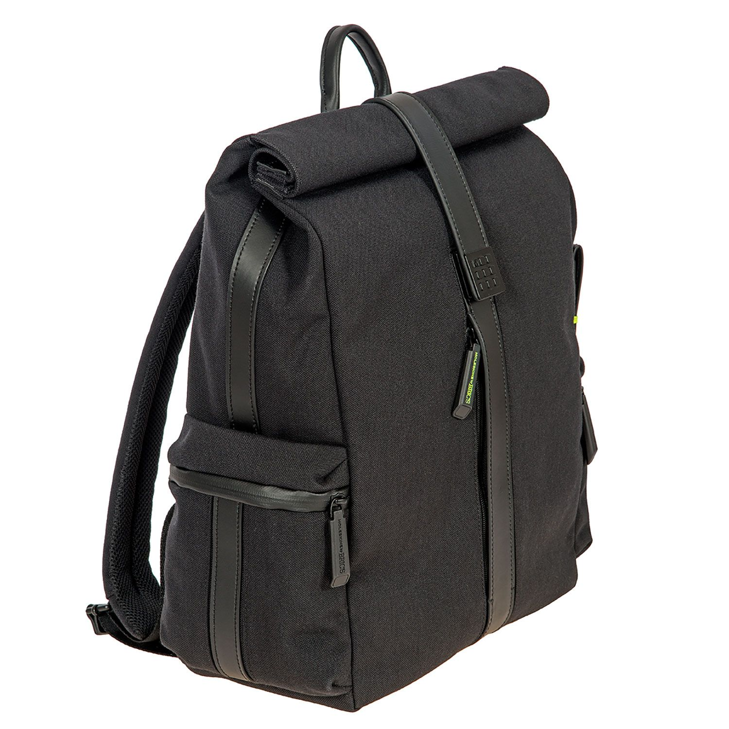 Bric's Moleskine Roll Top Backpack for Digital Devices up to 17 ...