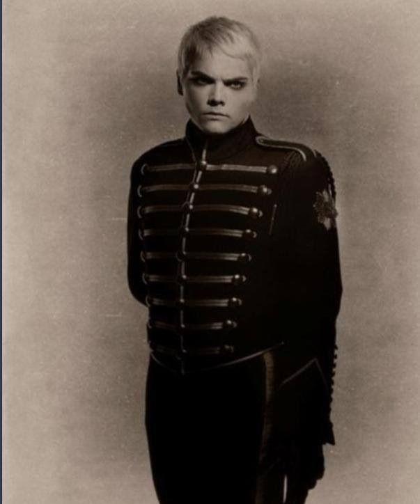 Gerard way the black parade jacket