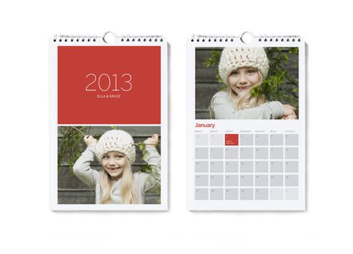 Mini Calendar Holiday Gifts Pinterest Personalized calendars