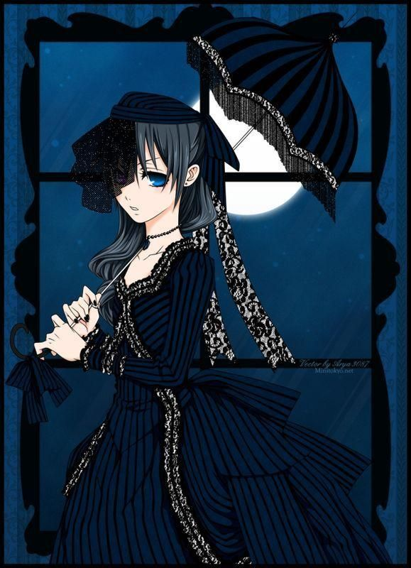 Black Butler Ciel Gothic Lolita Style Dress