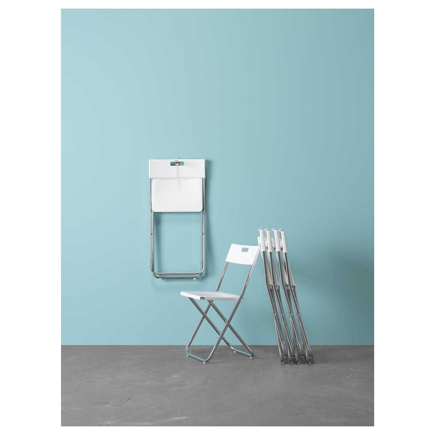Gunde Folding Chair White In 2020 Folding Chair Chair