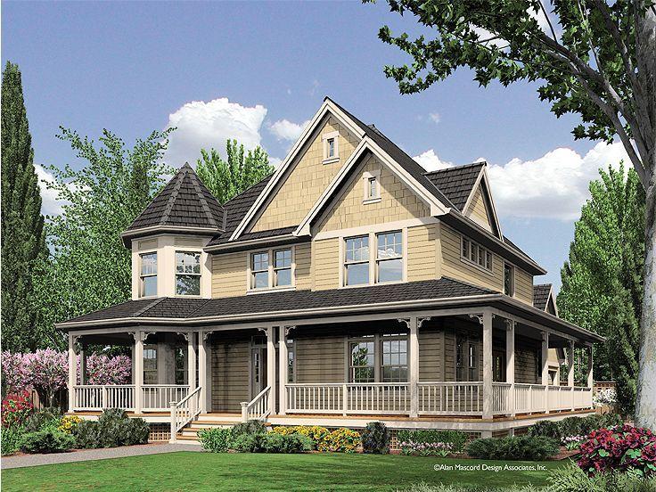 Victorian Home Plans Wrap Around Porch Tiny House