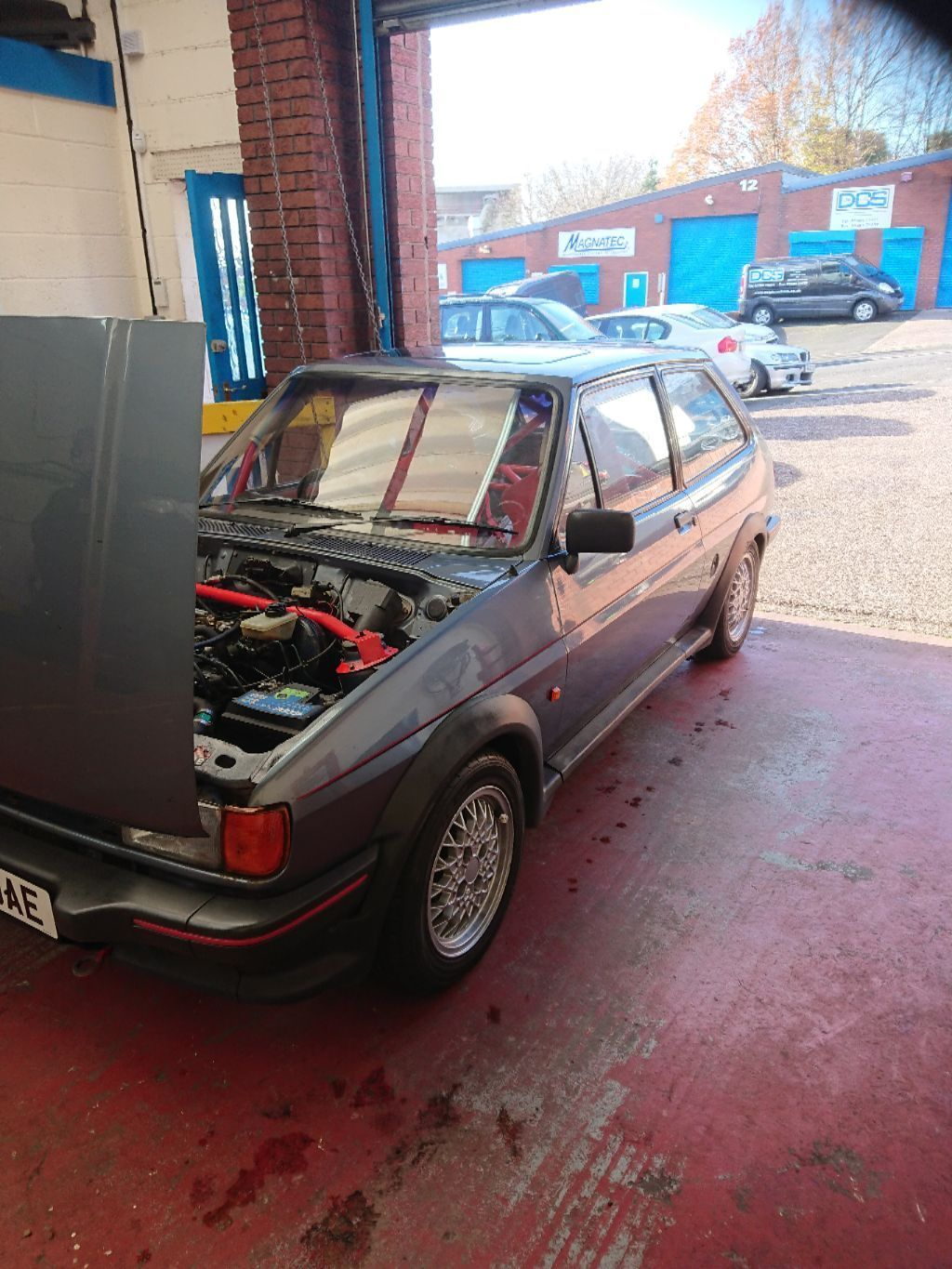 This mk2 xr2 road legal track car is for sale. | Fast Fords ...
