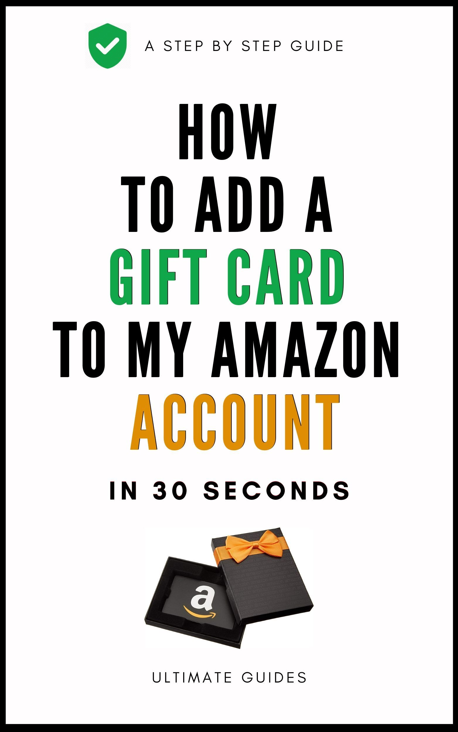 How To Add A Gift Card To My Amazon Account In 30 Seconds Amazon Gift Card Free Gift Card Digital Gift Card