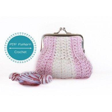 Crochet purse, clutch   Knitting Patterns   LoveKnitting ...