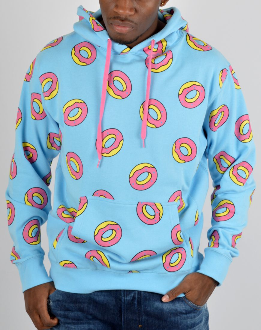 cc769d0d Odd Future clothing | Odd Future All Over Donut Hoodie - Blue New Hip Hop  Beats