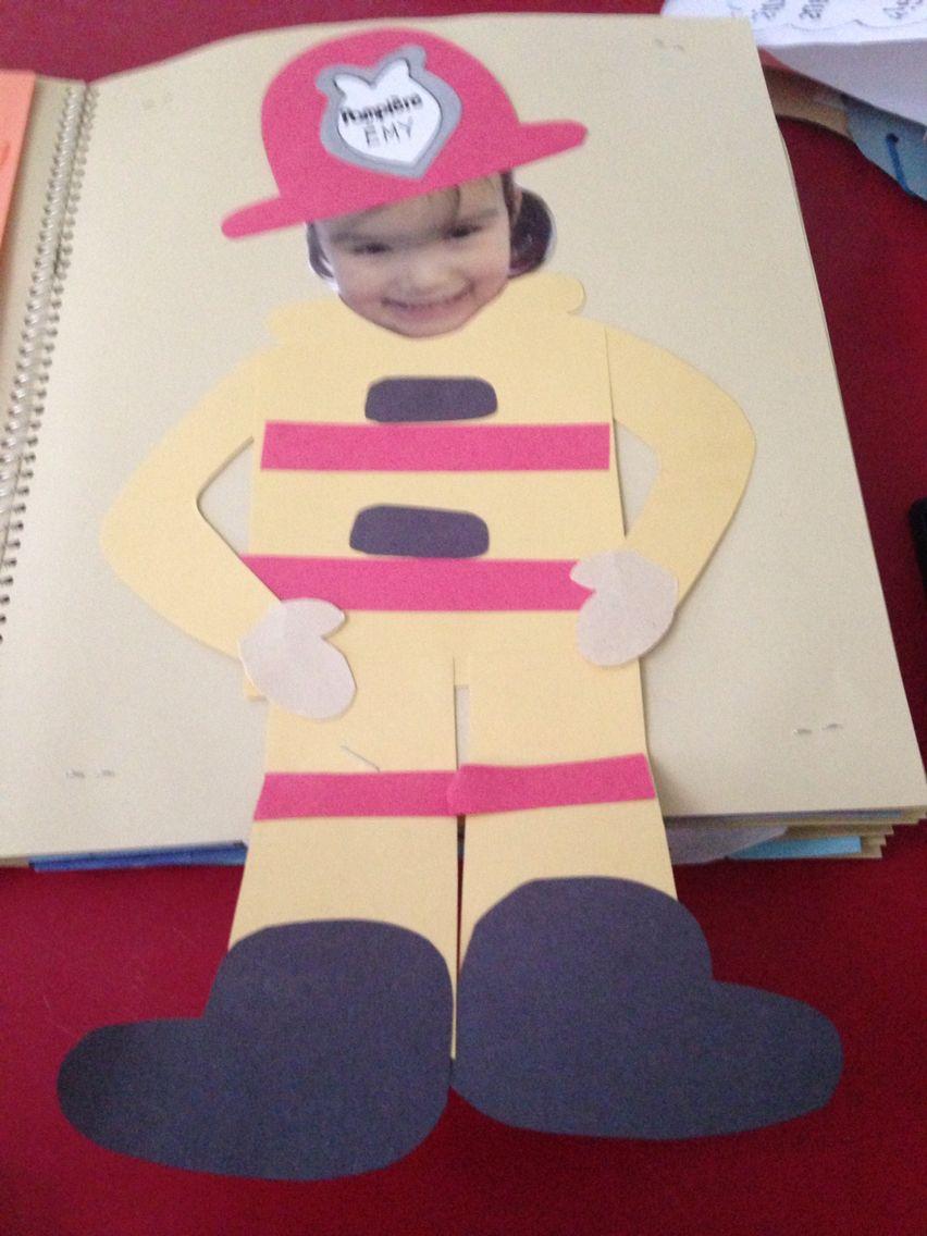 Fireman Craft Fireman Crafts Spring Crafts Preschool Easy Preschool Crafts