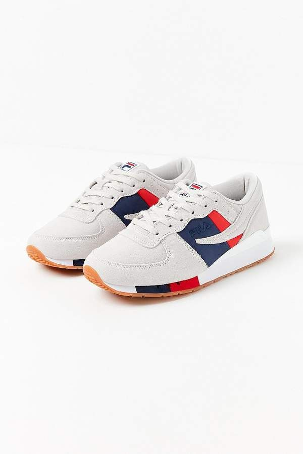4efe00feb24  80.00 - FILA  Original  Running  Chiara Sneaker - Classic  FILA  retro   runner updated with  modern colorblocking. Low-top  suede upper with  knitted tricot ...