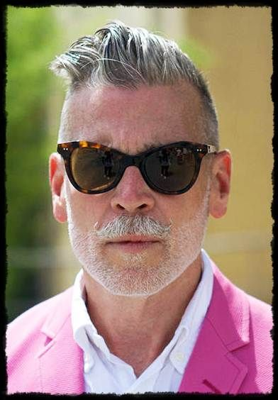 Nick Wooster haircut...