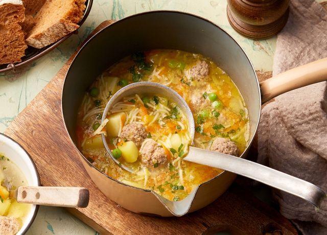 Frikadellen-Suppe #polpetterezept