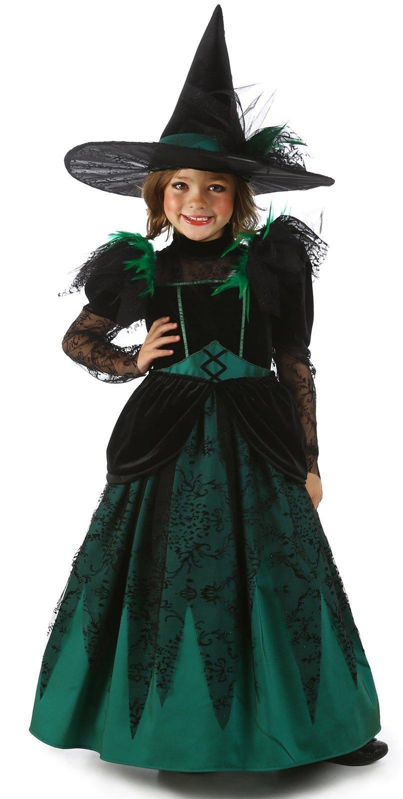 Girls Wizard of Oz Wicked Witch Pocket Princess Costume