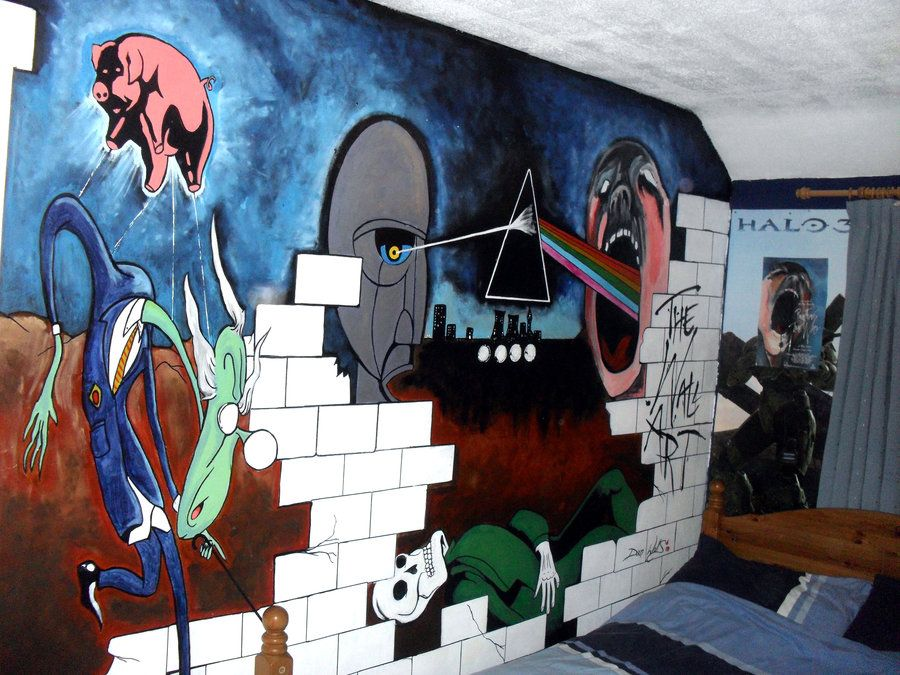 Pink Floyd The Wall Art pink floyd room | home is where ever i'm with you | pinterest