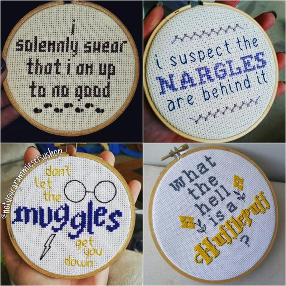 Photo of Hogwarts Cross Stitch And Embroidery – This Splendid Shambles