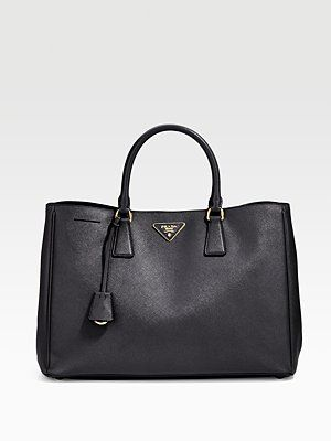 b3c36482ca78 Prada - Saffiano Lux Tote Bag - Saks.com @Saks Fifth Avenue   It's ...