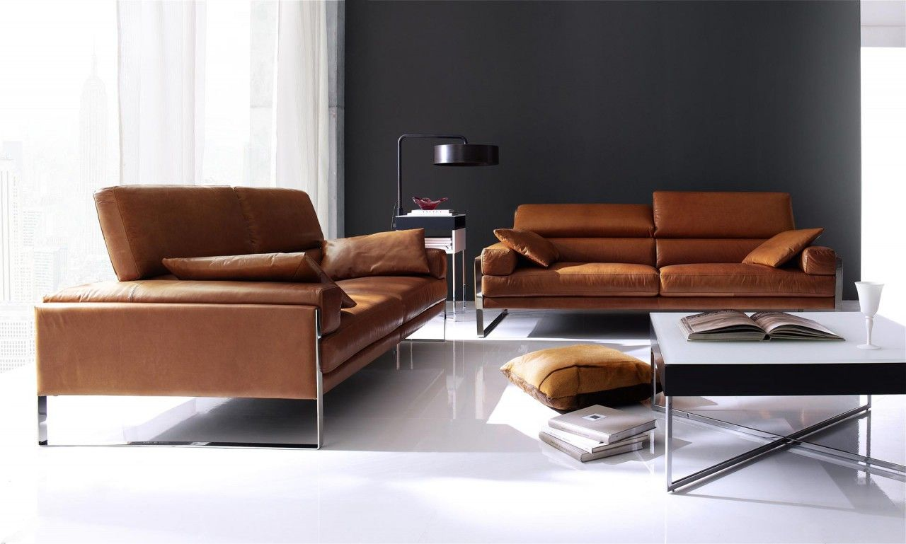 Calia Italia Sofagarnitur Romeo In Leder Karma Sitzdesign Home Furniture Sofa Styling Furniture