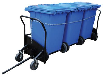Vestil Trash Can Cart Trash Bin Caddy In 2019