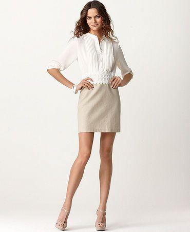 Kensie 3/4 pencil dress