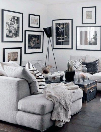 Décoration chaleureuse et cosy dans un intérieur contemporain