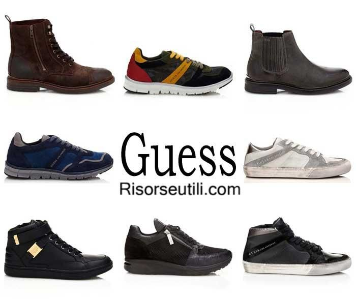 Shoes Guess fall winter 2016 2017 footwear for men