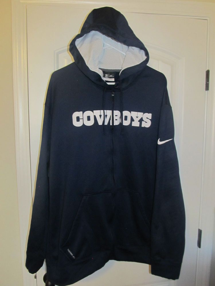 sale retailer 9df3f 20620 Dallas Cowboys Hoodie - Nike Therma Fit Adult 3XL #Nike ...
