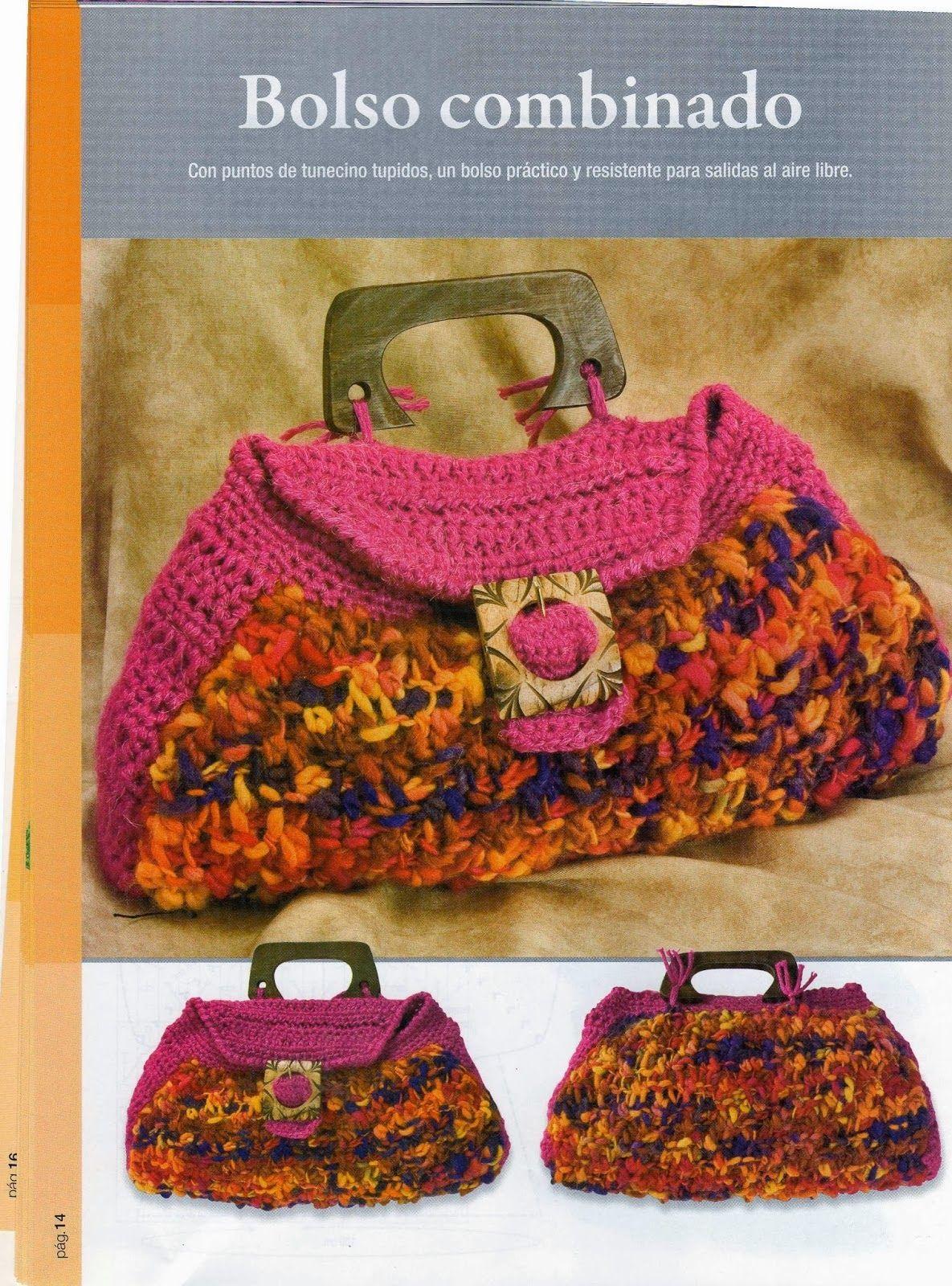 Gráficos, patrones... | crochet tunecino | Pinterest | Crochet ...