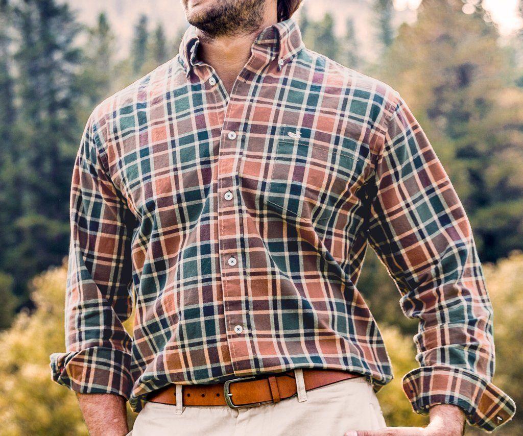 Ocoee Washed Plaid Dress Shirt Plaid Dress Shirt Button Shirts Men Southern Marsh Men [ 854 x 1024 Pixel ]