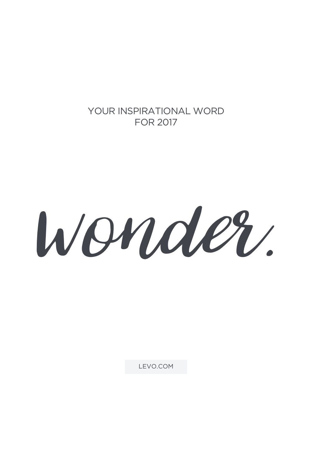What Will Be Your Inspirational Word For 2017? Words