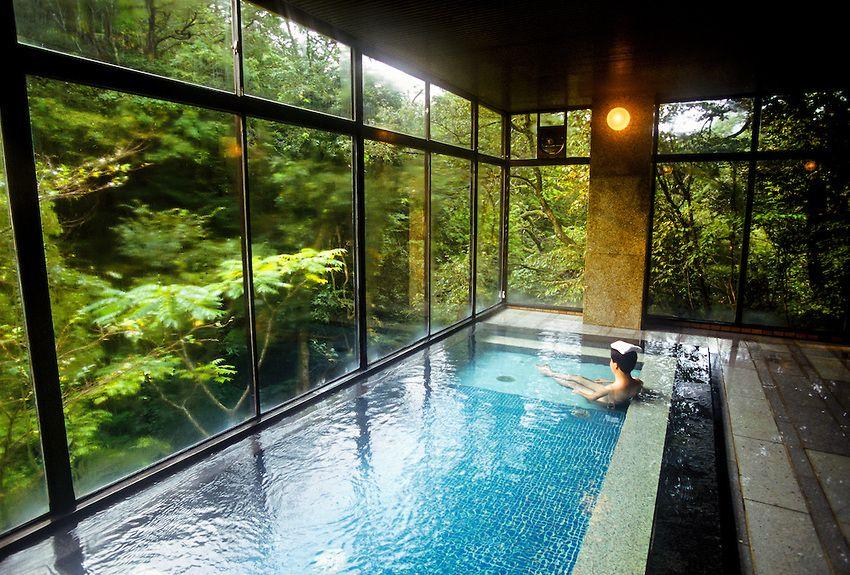 Onsen Hot Spring Bath Kayotei Ryokan Traditional Japanese