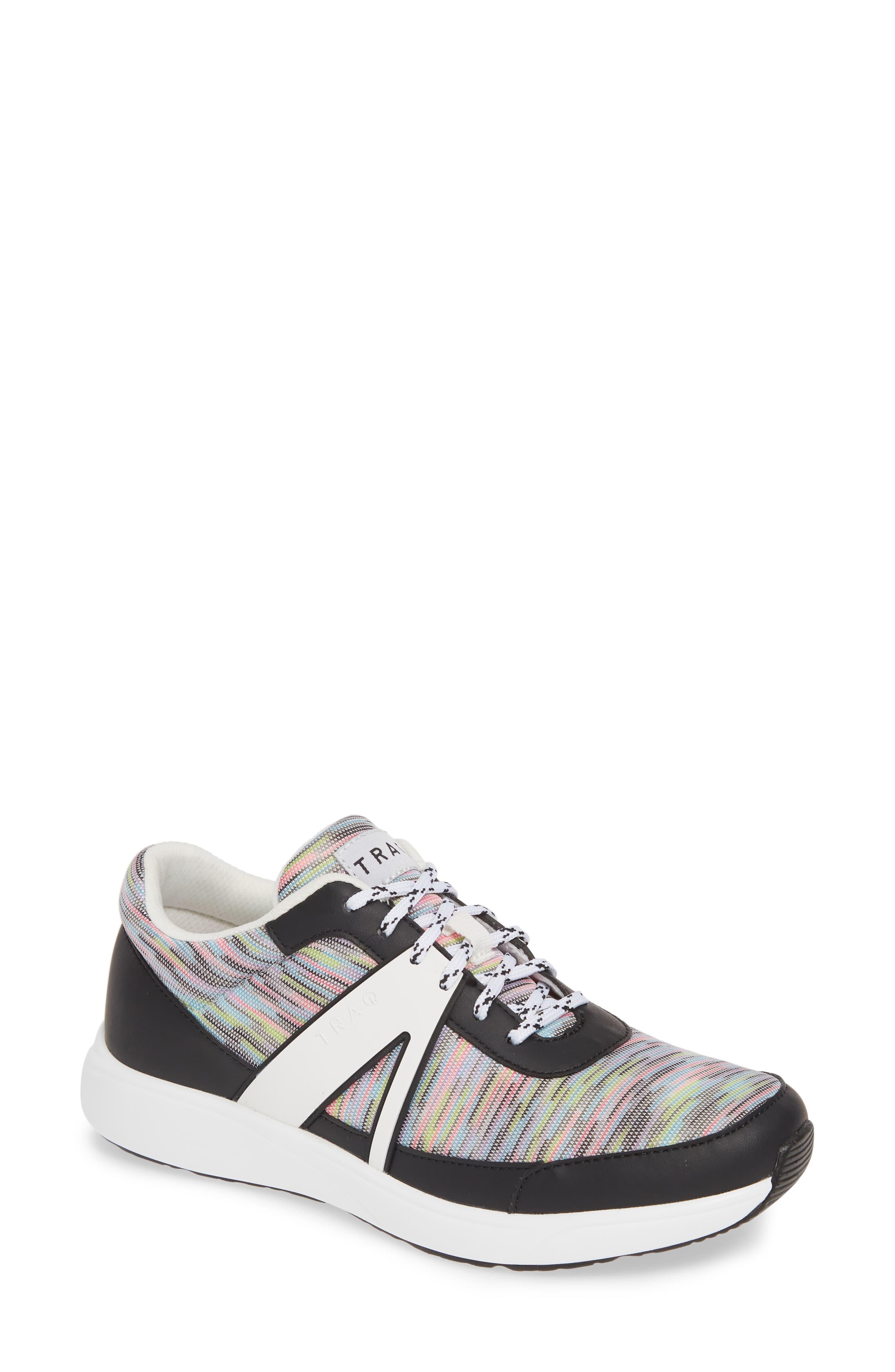Women's Alegria Qarma Sneaker, Size 10US 40EU Black
