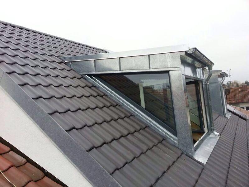 Dachfenster und Gauben