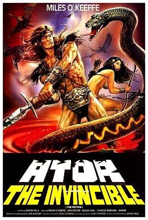 The Celluloid Coffin: Iron Warrior (1987)