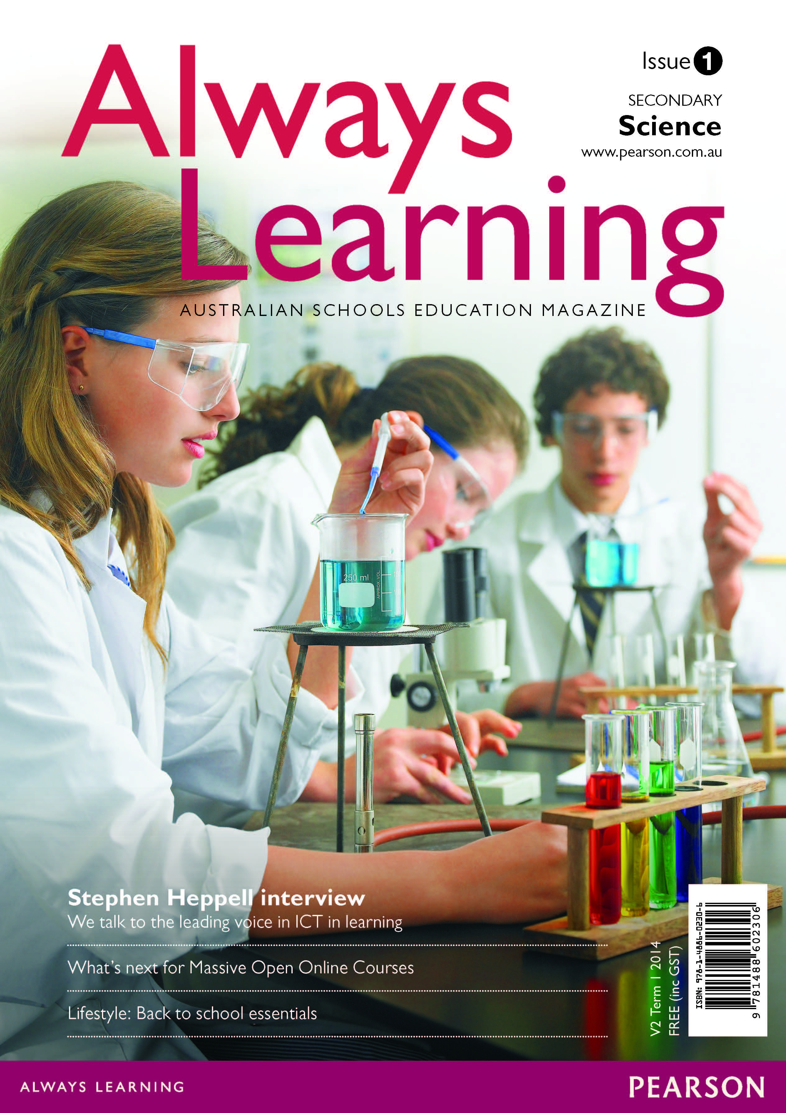 Always learning science magazine issue 1 term 1 2014