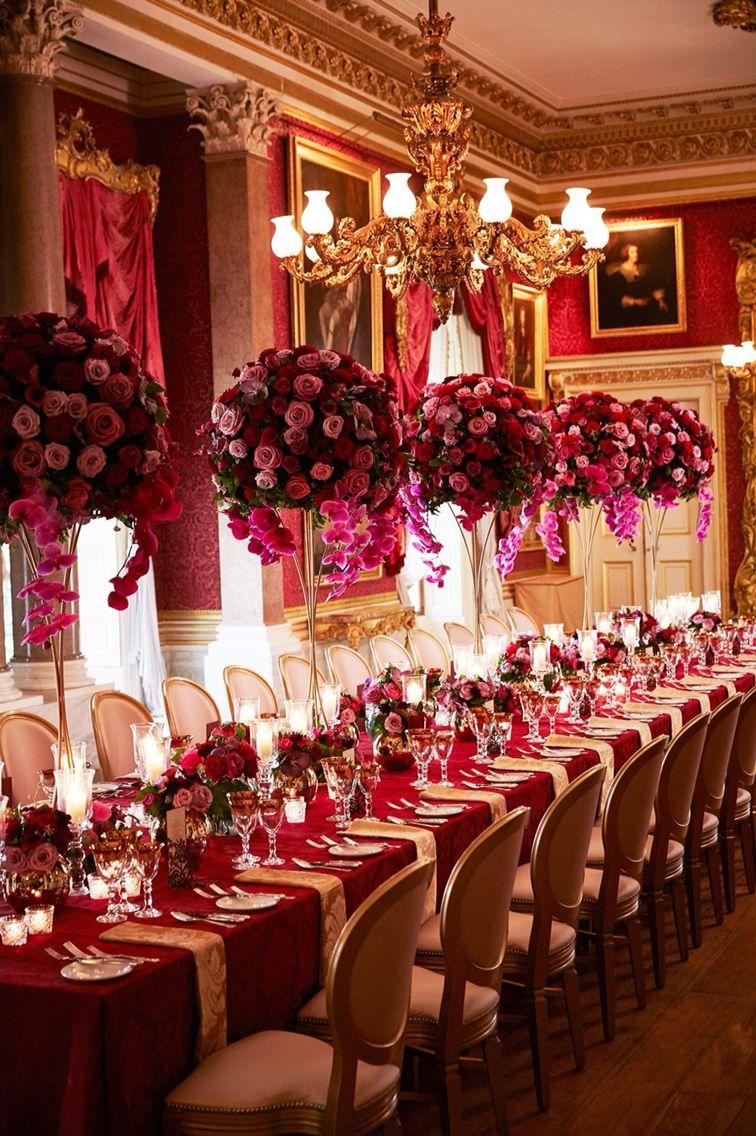 Luxury wedding decoration ideas  Detalles  Celebraciones  Pinterest  Wedding