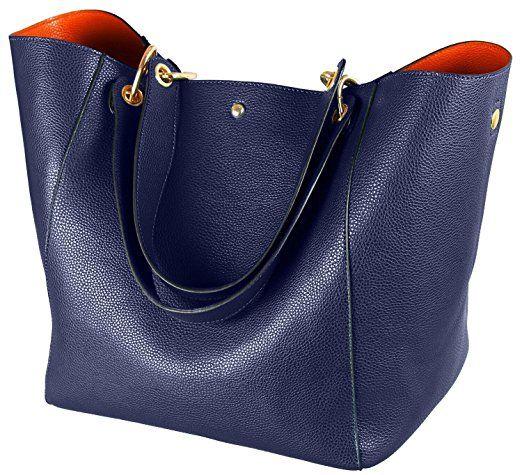 Neu Damen Tasche PU Leder Handtasche Schultertasche Umhängetasche Damentasche DE