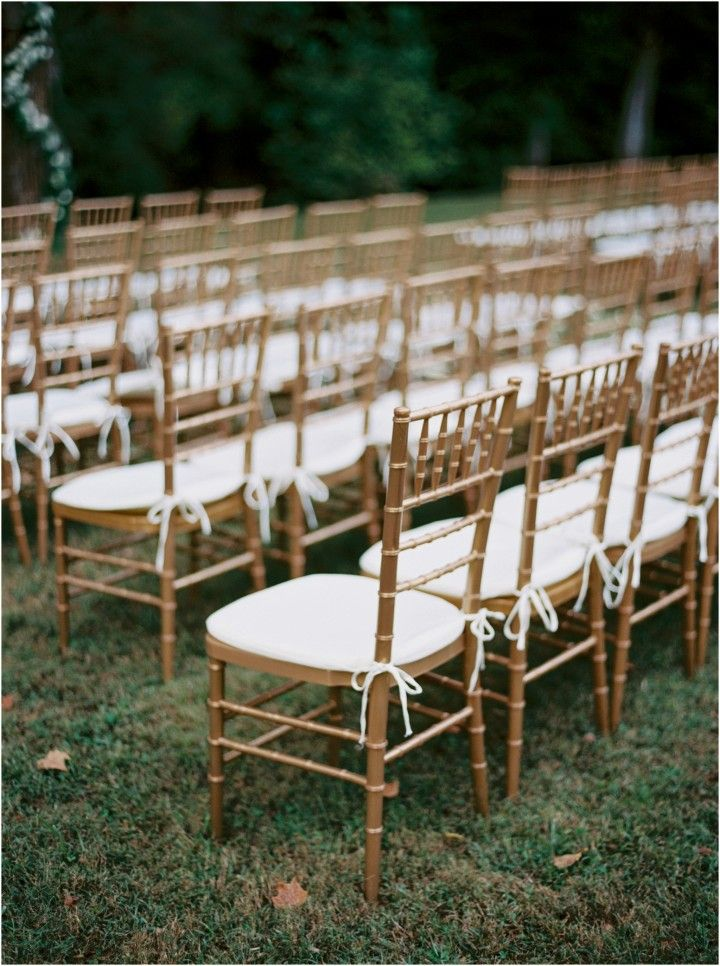Fall Wedding At Dara S Garden Chiavari Chairs Wedding Ceremony Chiavari Chairs Wedding Wedding Ceremony Chairs