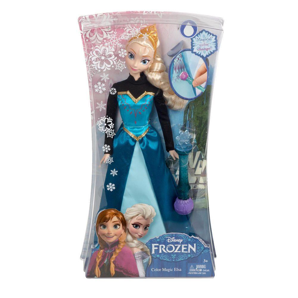 Frozen Toys R Us : Disney frozen color magic fashion doll elsa mattel
