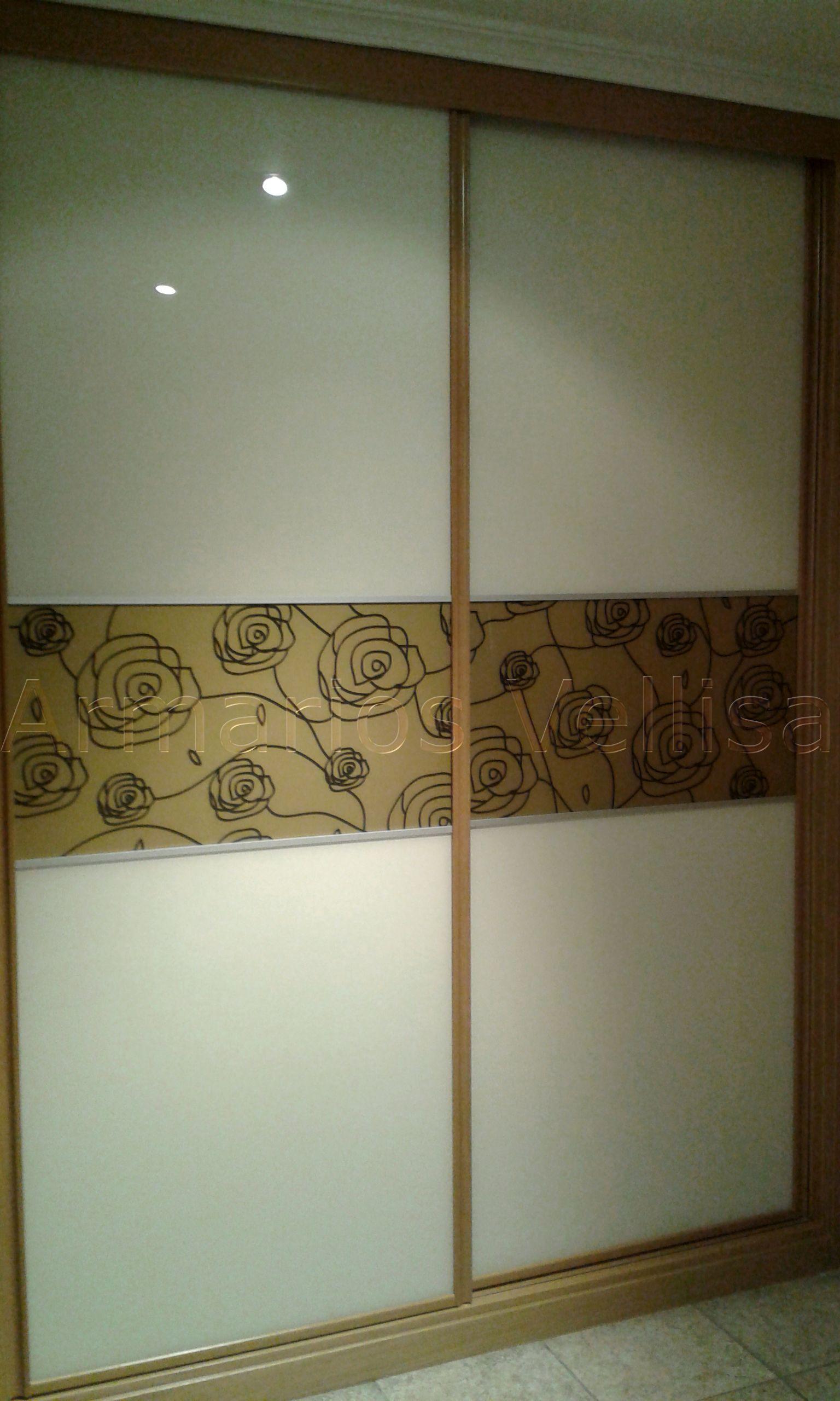Armario empotrado en hall vivienda 236 x 175 x 66 2 for Puertas correderas de cristal