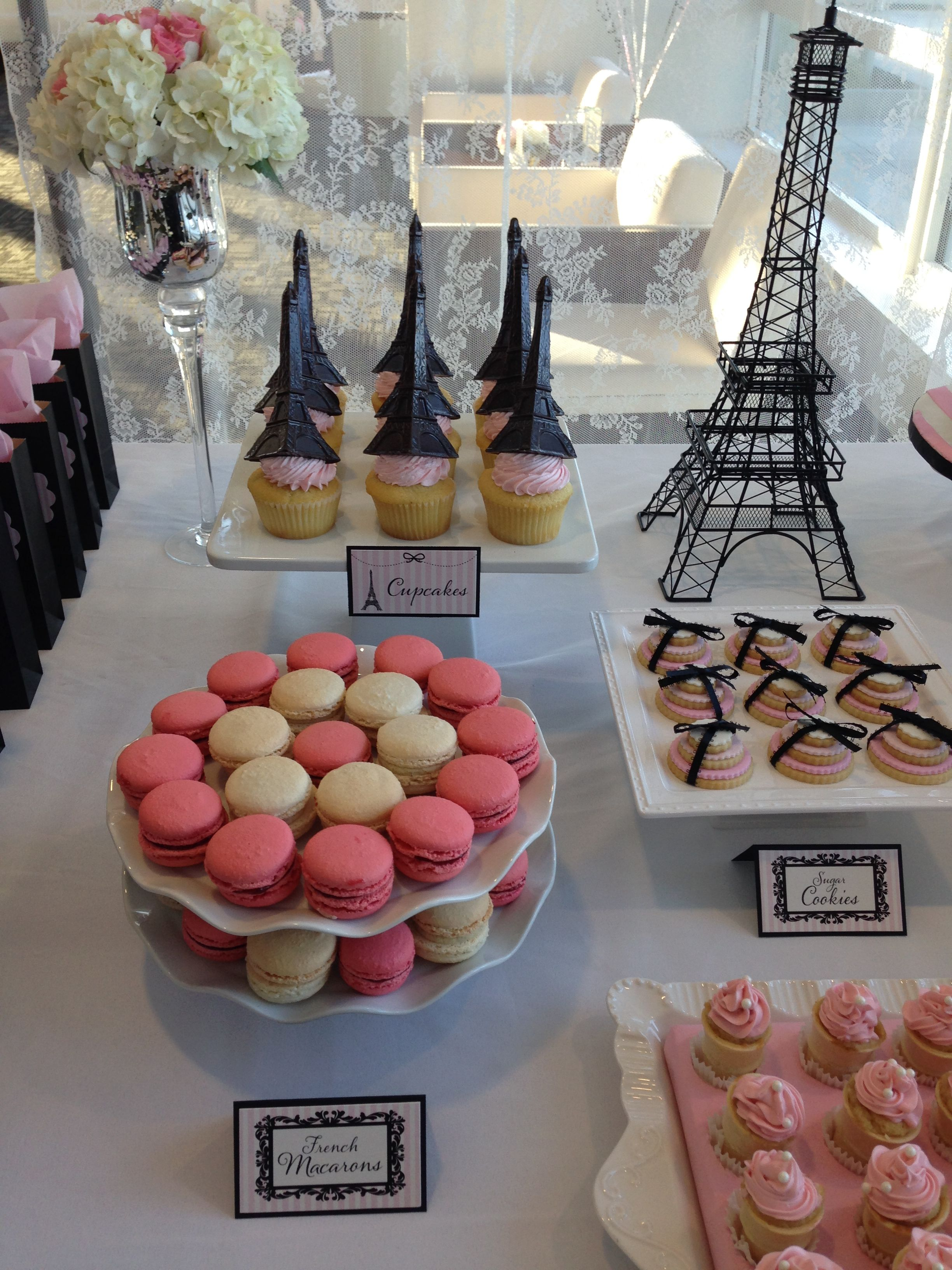 Marvelous Paris Theme Baby Shower |